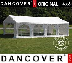 Tenda party 4x8 m PVC, Bianco