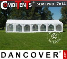 Tenda party 7x14m 5 in 1, Bianco