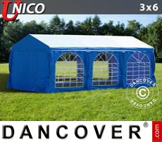 Tenda party UNICO 3x6m, Blu