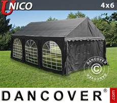 Tenda party UNICO 4x6m, Nero
