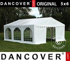 Tenda party 5x6m PVC, Bianco