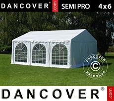 Tenda party 4x6m PVC, Bianco
