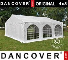 Tenda party 6x6m PVC, Bianco