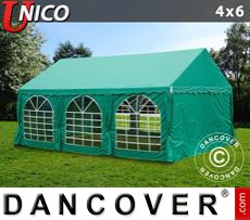 Tenda party UNICO 4x6m, Verde scuro
