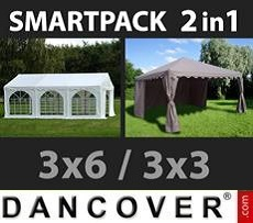 Tenda party 3x6m, Bianco 3x3m,...