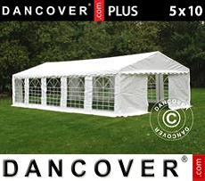 Tenda party 5x10m PE, Bianco