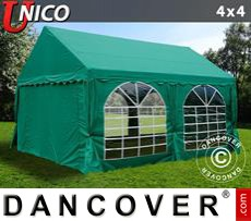 Tenda party UNICO 4x4m, Verde scuro