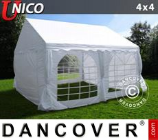 Tenda party UNICO 4x4m, Bianco