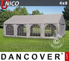 Tenda party UNICO 4x8m, Beige