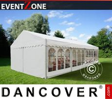 Tenda party 6x12 m PVC, Bianco