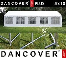 Tenda party 5x10m PE, Bianco +