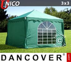 Tenda party UNICO 3x3m, Verde scuro