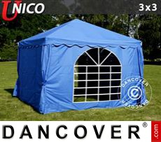 Tenda party UNICO 3x3m, Blu