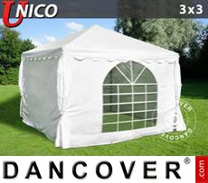 Tenda party UNICO 3x3m, Bianco