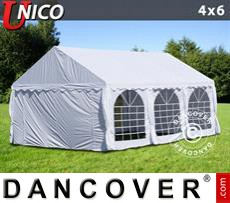 Tenda party UNICO 4x6m, Bianco