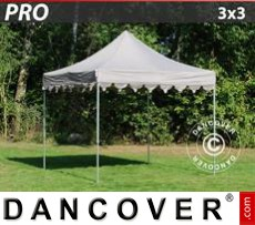 Tenda party 3x3m Latte