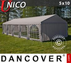 Tenda party UNICO 5x10m, Beige