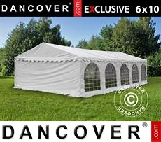 Tenda party 6x10m PVC, Bianco