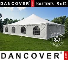Tenda party 9x12m PVC, Bianco