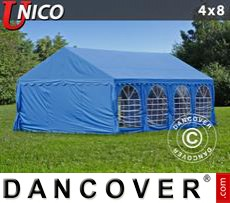 Tenda party UNICO 4x8m, Blu