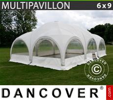 Tenda party 6x9m, Bianco