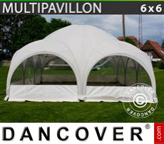 Tenda party 6x6m, Bianco