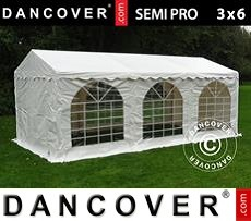 Tenda party 3x6m PVC, Bianco