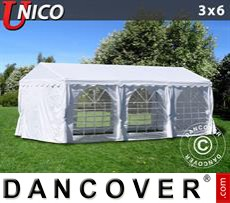 Tenda party UNICO 3x6m, Bianco