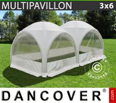 Tenda party 3x6m, Bianco