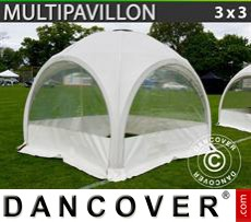 Tenda party 3x3m, Bianco