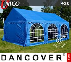 Tenda party UNICO 4x6m, Blu