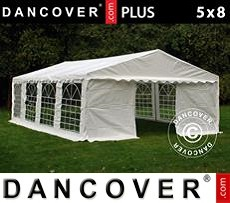 Tenda party 5x8m PE, Bianco