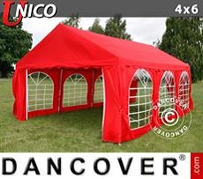 Tenda party UNICO 4x6m, Rosso