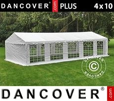 Tenda party 4x10m PE, Bianco