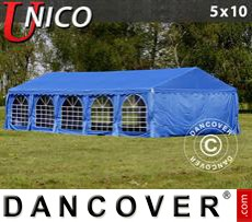Tenda party UNICO 5x10m, Blu