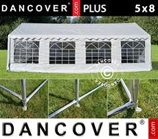 Tenda party 5x8m PE, Bianco +