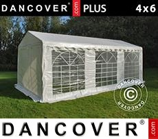 Tenda party 4x6m PE, Bianco