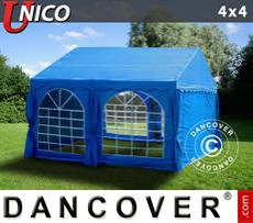 Tenda party UNICO 4x4m, Blu