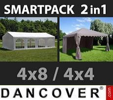 Tenda party 4x8m, Bianco 4x4m,...