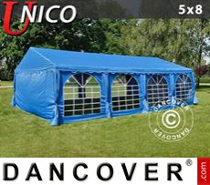 Tenda party UNICO 5x8m, Blu