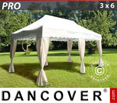 Tenda party 3x6m Bianco, incl. 6