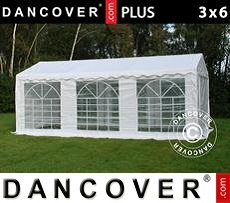 Tenda party 3x6m PE, Bianco