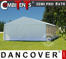 Tenda party 8x16 (2,6)m 6 in 1, Bianco