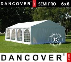 Tenda party 6x8m PVC, Bianco