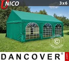 Tenda party UNICO 3x6m, Verde scuro
