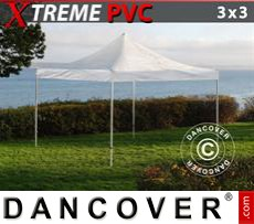 Tenda party 3x3m Trasparente