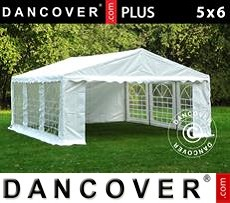 Tenda party 5x6m PE, Bianco